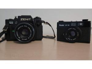 Macchina fotografica Zenit 122 e Rollei