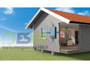 Pannello Solare Aria Calda Vendita : Riscaldamento ad aria posot class