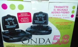 Ripetitore trasmettitore audio video 5.8 Ghz