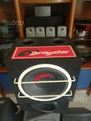 Subwoofer per auto Dragster