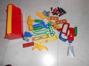 Attrezzi giocattolo con giravite elettrico chicco