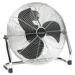 Bestron DFA40 Ventilatore da pavimento 45 cm 100 W cromo