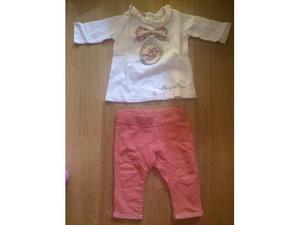 Completo t-shirt e pantaloni LIU-JO Baby 3 mesi
