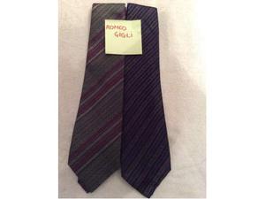 Cravatte vintage griffate