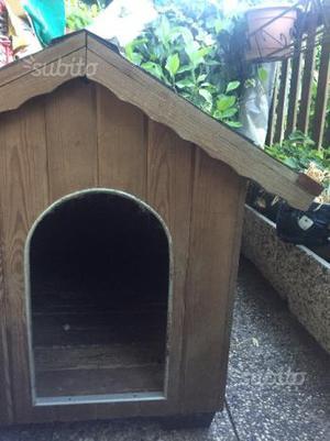 Cuccia cane taglia grande nuova legno vicenza posot class for Cuccia cane taglia grande