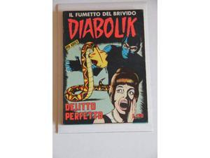 Diabolik n. 18 prima serie da edicola