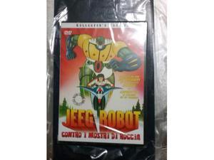 Jeeg Robot contro i mostri di roccia collector's edition