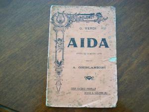 Libretto d' opera aida
