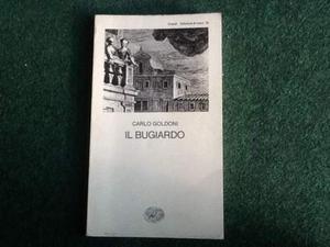 "Libro ""Il Bugiardo"" Carlo Goldoni"