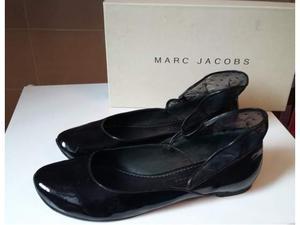 Marc Jacobs Ballerine Vernice Pois Tulle Volant
