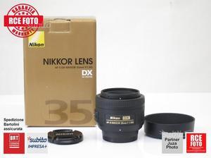 Nikon 35 mm f 1.8 g dx