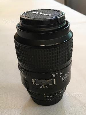 Obiettivo AF Micro Nikkor 105mm 1:2.8
