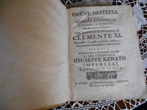 Scilla, S. Breve notizia de monete pontificie antiche e