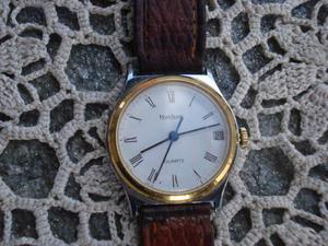 Splendido orologio montblanc acciaio e pl oro con data
