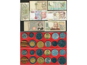 Banconote e Monete Repubblica Italiana
