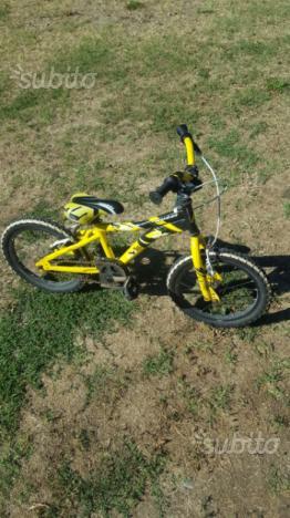 Bicicletta misura 16