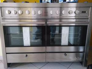 Cucina inox usata 6 fuochi con forno | Posot Class