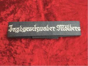 Fascia da braccio Jagdgeschwader Mölders Luftwaffe WW2