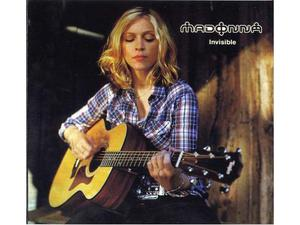 "Madonna ""invisible "" rarissimo cd"