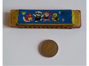 Mini Armonica a Bocca Giocattolo Vintage Anni 70