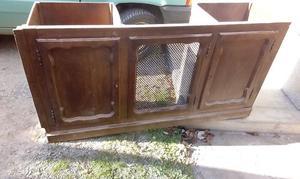 Mobile antico in legno massello