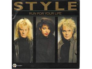 STYLE 7'' Run for your life, run run run NUOVO!
