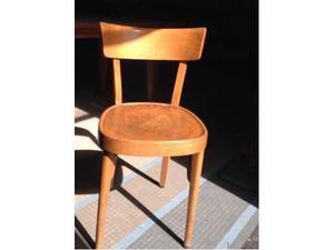 Sedie In Legno Anni 50.Set 6 Sedie In Legno Anni 50 Posot Class