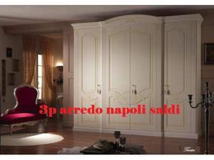 Armadio classico decorato 3p arredo
