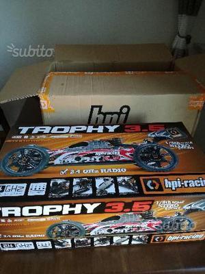Automodello hpi buggy trophy 3.5 nitro