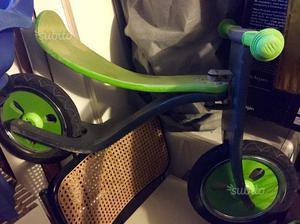 Bicicletta bimbo senza pedali in legno