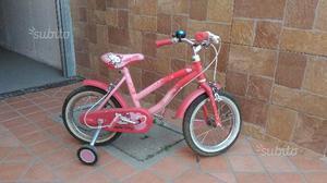 Bicicletta per bambina 4/6 anni