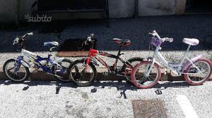 Bicicletta per bambino / bambina 3-7 anni