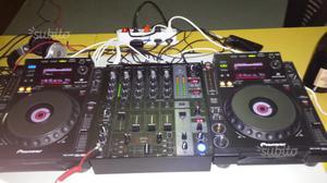 Cdj 900 mixer behringer djx 750