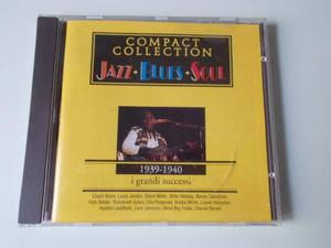 Compact Collection JAZZ BLUES SOUL cd i grandi successi