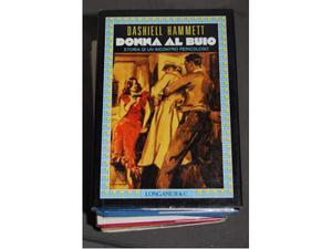Dashiell hammett donna al buio prima edizione  longanesi