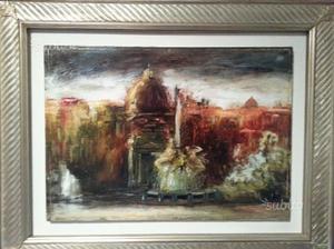 Dipinti autore olio su tela