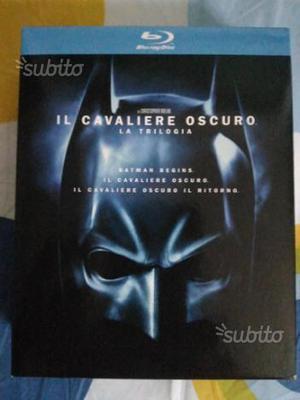 Il Cavaliere Oscuro trilogia bluray
