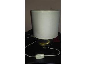 Lampada vintage da tavolo ottone