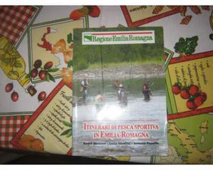 Libro di itinerari di pesca sportiva in Emilia Romagna
