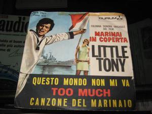 """Little Tony - vinile 7"""""""