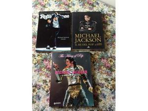 Lotto di 3 libri su Michael Jackson
