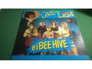 Love Me Licia e i Bee Hive 33 giri Cristina D'Avena