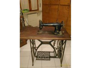 Macchina da cucire manuale a pedale pfaff anni posot class for Macchina cucire pedale