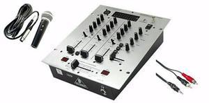 Mixer behringer dx626 Microfono dinamico cavo rca