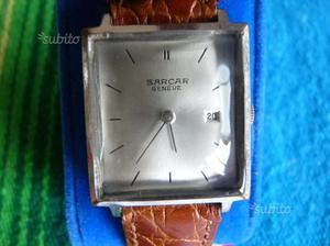 Orologio Sarcar caric manuale Swiss made originale