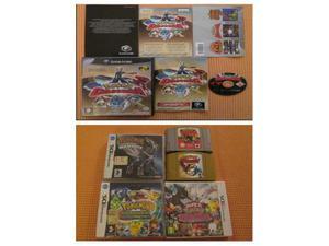 Pokemon nintendo ds 3ds n64 gamecube