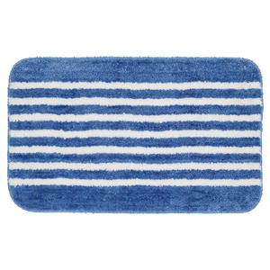 Sealskin Tappetino da bagno Strisce 50 x 80 cm blu