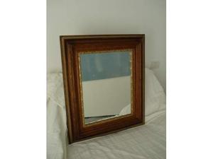 Specchio nuovo su cornice in legno anni 50