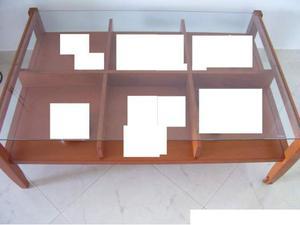 Tavolino da soggiorno calligaris legno massello