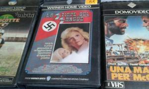 3 VHS La stirpe del sangue - UNA MAGNUM PER McQUAD